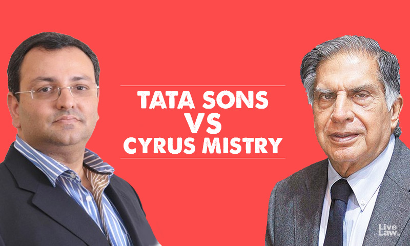 SC Stays NCLAT Judgment Which Reinstated Cyrus Mistry As Executive Chairman Of Tata Sons