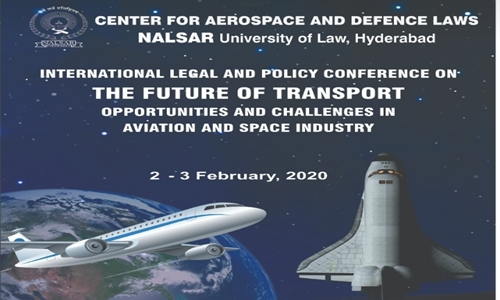 1st International Legal And Policy Conference On The Future Of Transport Opportunities And Challenges In Aviation And Space Industry