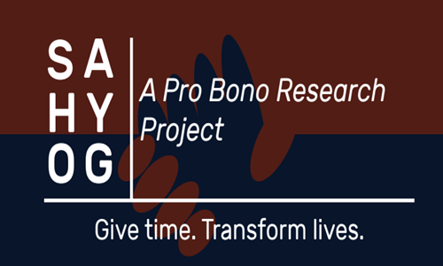 SAHYOG – A Pro Bono Research Project At West Bengal National University Of Juridical Sciences, Kolkata