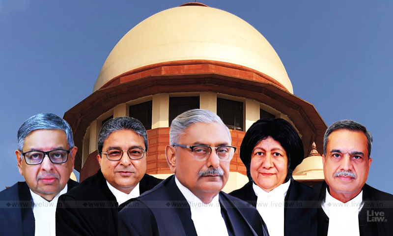 SC Constitution Bench Concludes First Virtual Hearing; Reserves Judgment