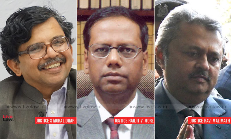 Breaking: SC Collegium Recommends Transfer Of Delhi HC Judge Justice Muralidhar And Bombay HC Judge Justice Ranjit More