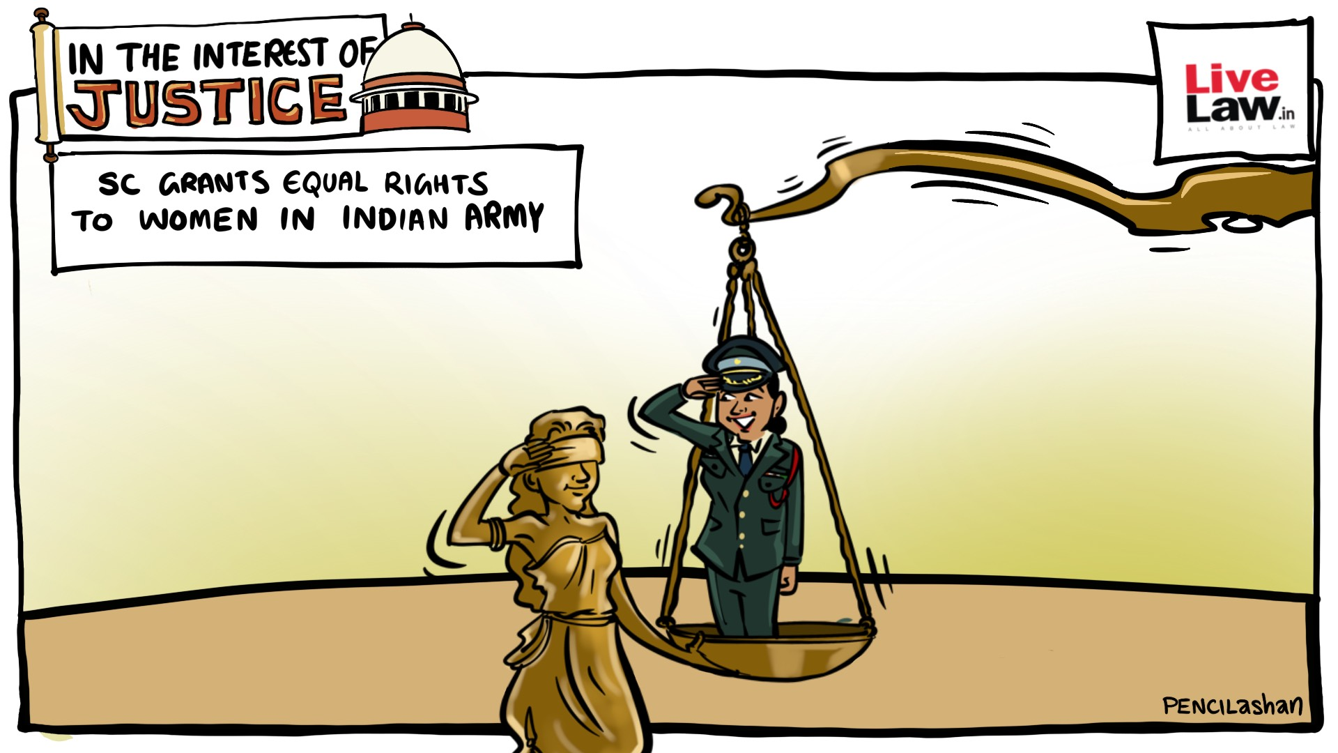 SC Grants equal rights to women in Indian army