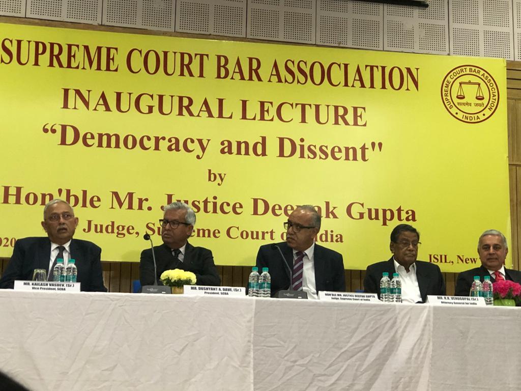 Majoritarianism Is Antithesis to Democracy: Justice Deepak Gupta Speaking On
