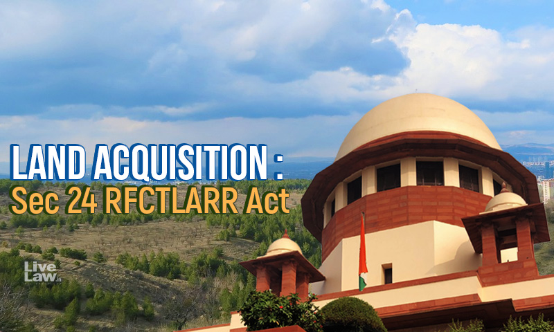 Land Acquisition Judgment : Puzzling Questions Left By A Strained Interpretation