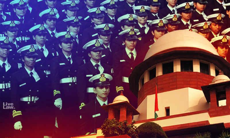 SC Directs Navy To Grant Permanent Commission For Serving Women SSC Officers [Read Judgment]