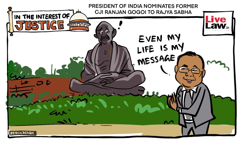 [CARTOON] Ex-CJI Nominated To Rajya Sabha