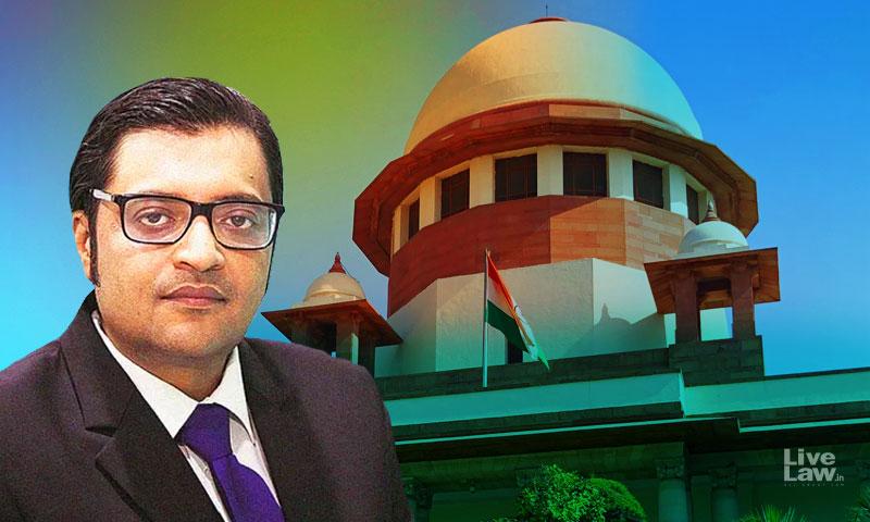 Mumbai Police Probe A Chilling Effect On Press Freedom, Says Arnab Goswami; SC Reserves Order On Plea To Transfer Case To CBI [Read Order]