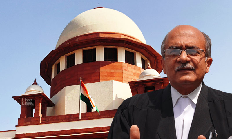 [Contempt Proceedings Against Prashant Bhushan] LIVE-UPDATES From Supreme Court