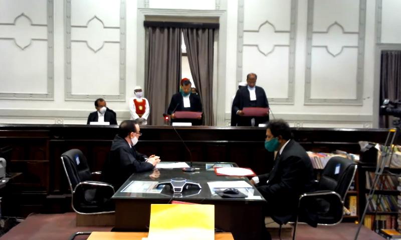 Justice Vijaysen Reddy Sworn In As Judge of Telangana HC