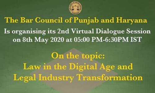 Punjab & Haryana Bar Council Virtual Dialogue Session-2 [8th May]