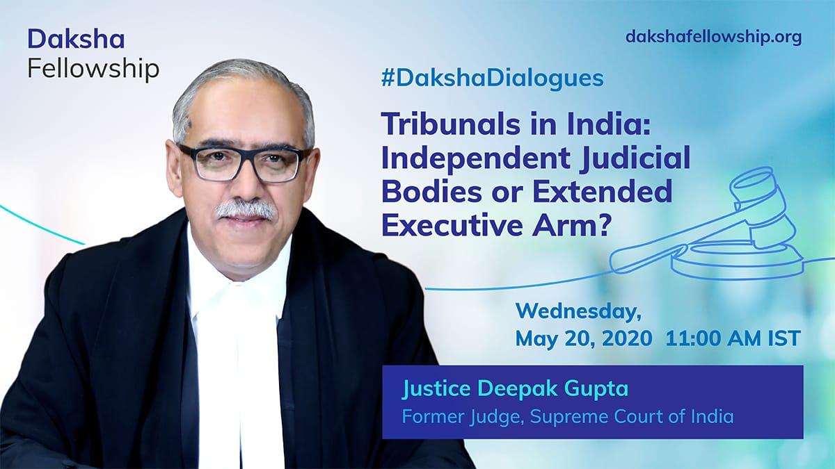 #Dakshadialogues: Justice Deepak Gupta On Tribunals In India