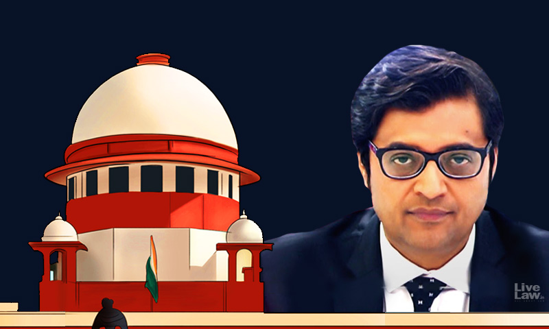 SC Issues Notice In Arnab Goswamis Plea Challenging Breach Of Privilege Motion Notice By Maharashtra Assembly