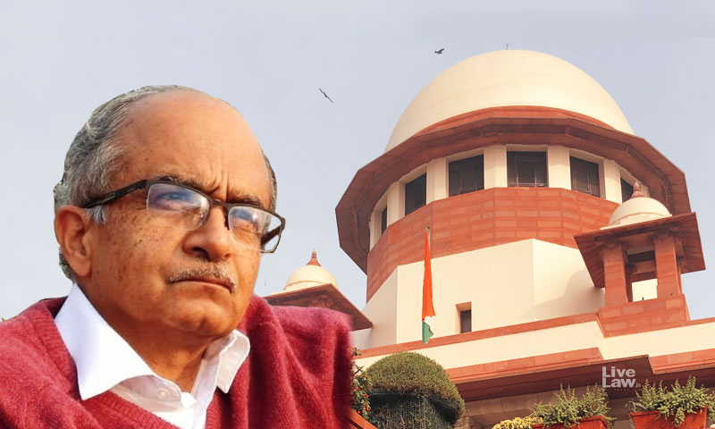 [Breaking] SC Registers Suo Moto Contempt Case Against Prashant Bhushan, Twitter India