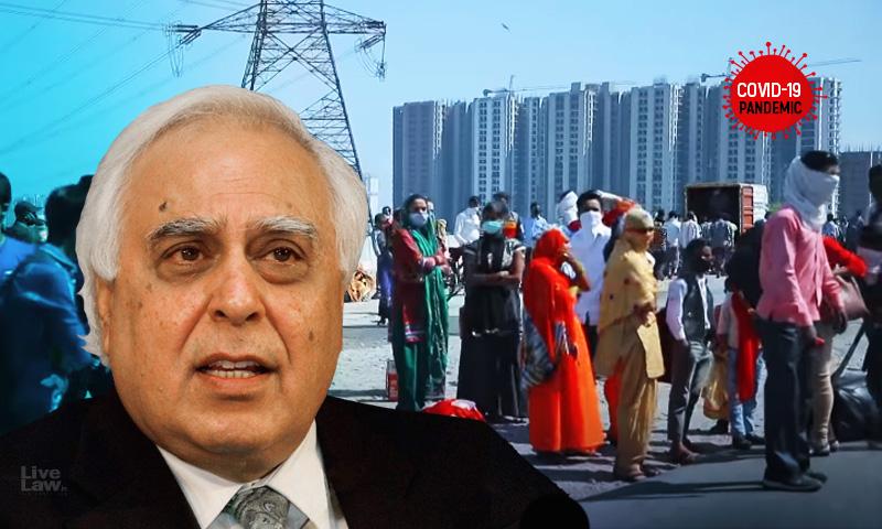 No National Plan, Minimum Standards As Per Disaster Management Act For Lockdown : Sr Adv Kapil Sibal Tells SC