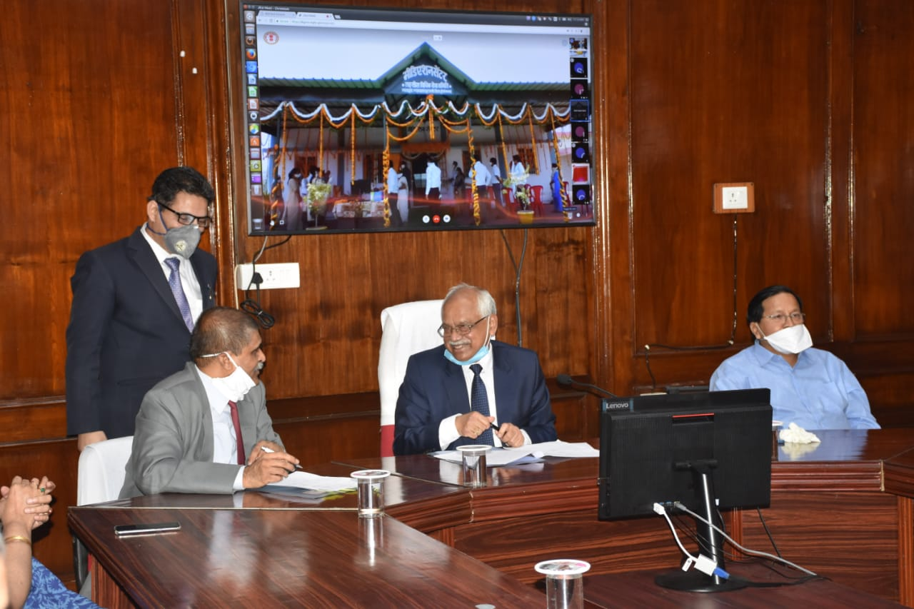 MP HC Chief Justice Inaugurates New Court Complexes, ADR & Mediation Centres
