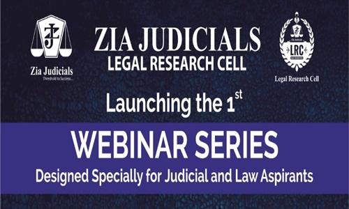 Zia Judicials Webinar Series [June 2020]