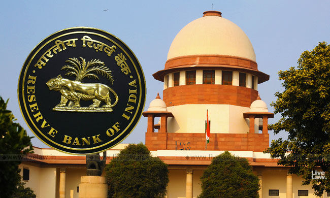 Supreme Court Dismisses Banks Application To Recall Judgment Which Directed RBI To Disclose Loan Defaulters List, Inspection Reports Under RTI