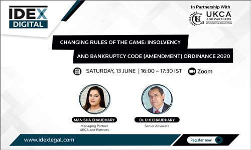 Webinar On Changing Rules Of Insolvency And Bankruptcy Code (13th June)