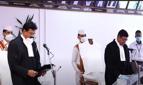 Justice Anant Manohar Badar Sworn In As Kerala HC Judge