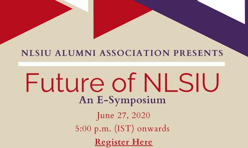 Alumni Association Of NLSIU To Organize E- Symposium On Future of NLSIU