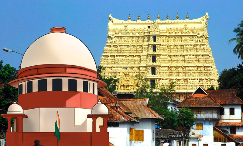 Sree Padmanabha Swamy Temple Case : SC Upholds Shebait Rights Of Erstwhile Royal Family Of Travancore [Updated With Judgment]