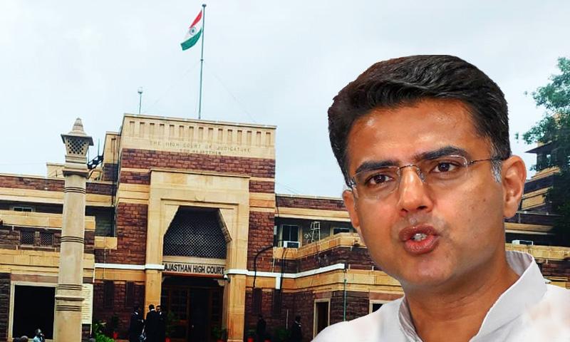 Rajasthan Political Crisis : HC Hearing On Sachin Pilot Camp