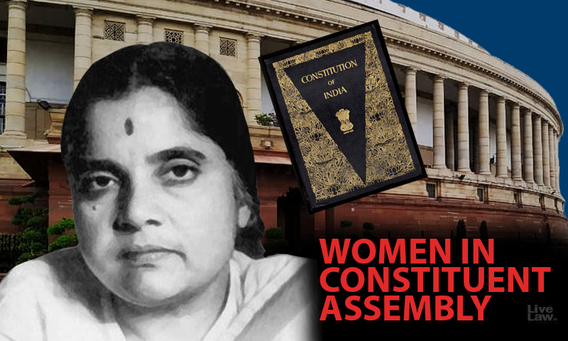 Women In Constituent Assembly: G. Durgabai, The Most Frequent Woman Voice