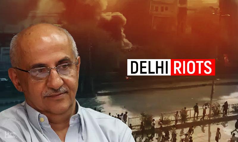 Delhi Riots : Delhi HC Allows Harsh Mander To Withdraw Plea Seeking FIR Against Politicians; Grants Liberty To Approach Magistrate