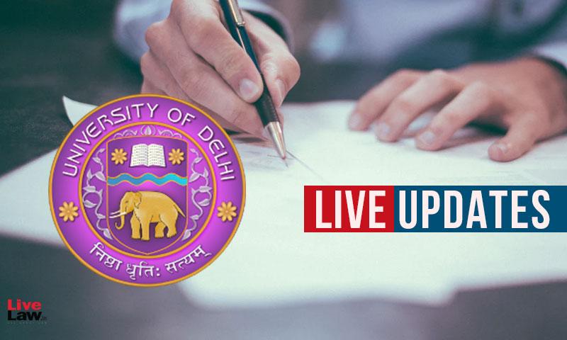 Challenge Against Delhi University Open Book Exams: Live Updates From Delhi HC Hearing