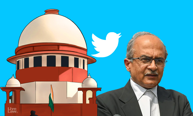 [Breaking] SC To Pronounce Judgment Tomorrow In Contempt Case Against Prashant Bhushan Over His Tweets