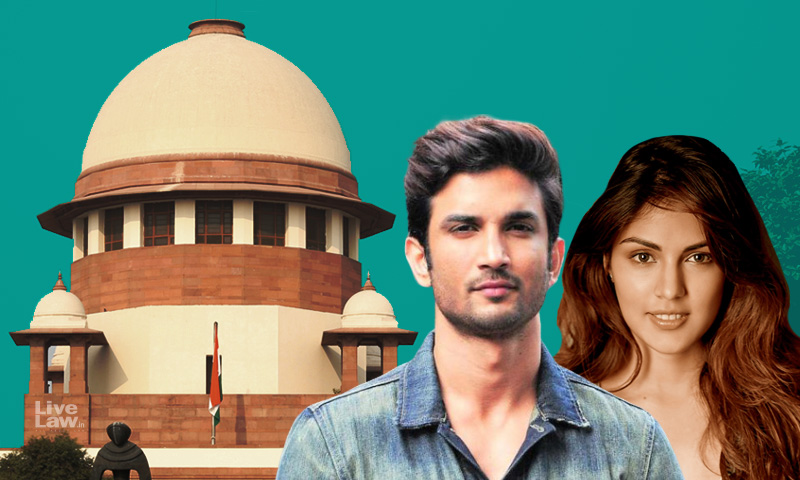Sushant Singhs Death Being Sensationalized;Media Trial Causing Trauma : Rhea Chakraborty Tells SC
