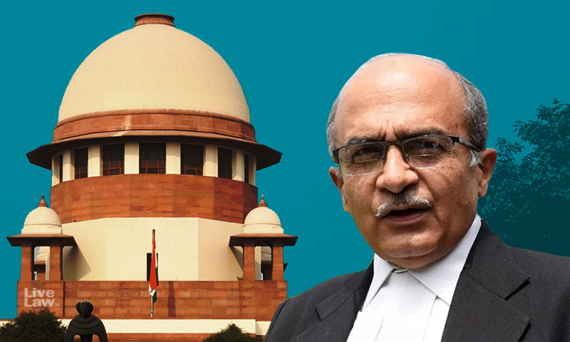 Prashant Bhushan Files Fresh Application In Contempt Case To Lead Further Evidence