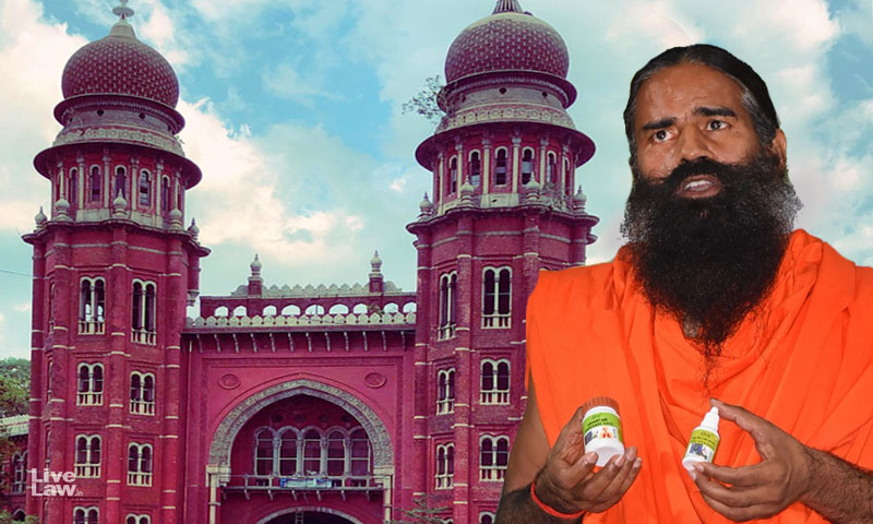 Patanjali Ayurved Exploiting Public Fear By Projecting They Could Cure COVID-19: Madras HC Restrains Usage Of Word Coronil