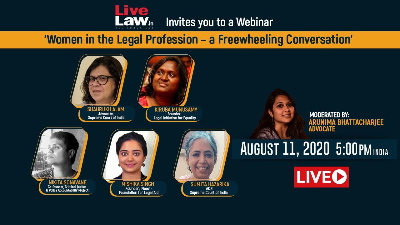[Webinar]Women In The Legal Profession - A Freewheeling Conversation [Part I]