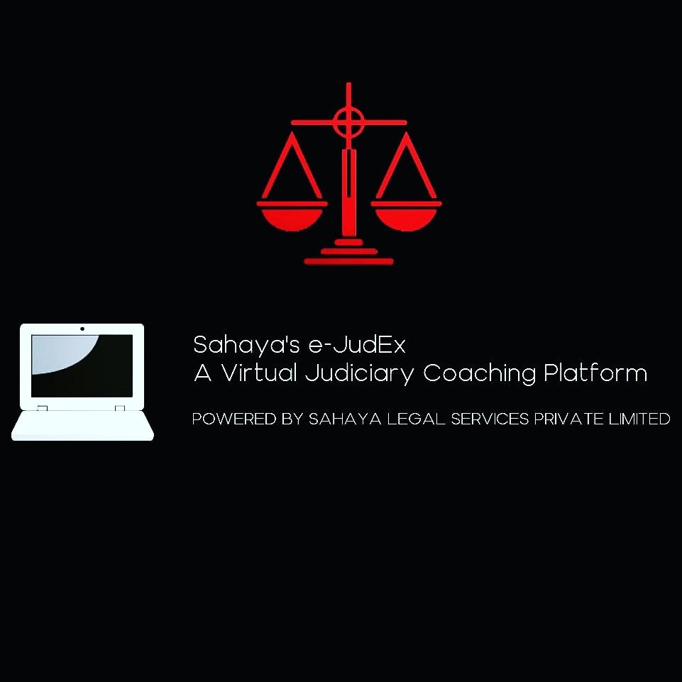 Sahayas e-JudEx: A Virtual Judiciary Coaching Platform