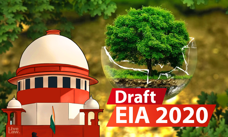 Draft EIA 2020: SC Stays Delhi HC Contempt Proceedings Against Centre For Failure To Publish Notification In Regional Languages [Read Order]