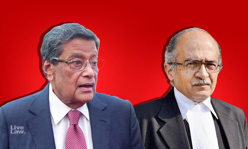 Attorney General Requests SC To Not Punish Prashant Bhushan In Contempt Case