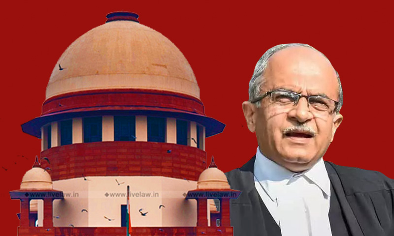 [Breaking] SC To Pronounce Sentence In Contempt Case Against Prashant Bhushan On August 31
