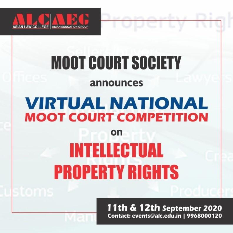ALC Noidas 1st National Virtual Moot [11th-12th Sept]