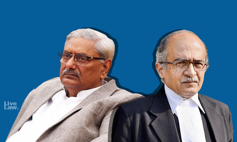[Breaking]Tells Us What Is Wrong In Using The Word Apology: Asks Justice Mishra As SC Reserves Judgment In Prashant Bhushan Contempt Case Over Two Tweets
