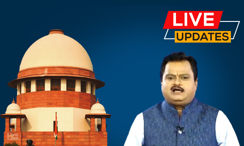 [LIVE UPDATES] SC Hearing On Plea Against Sudarshan News TVs UPSC Jihad Show