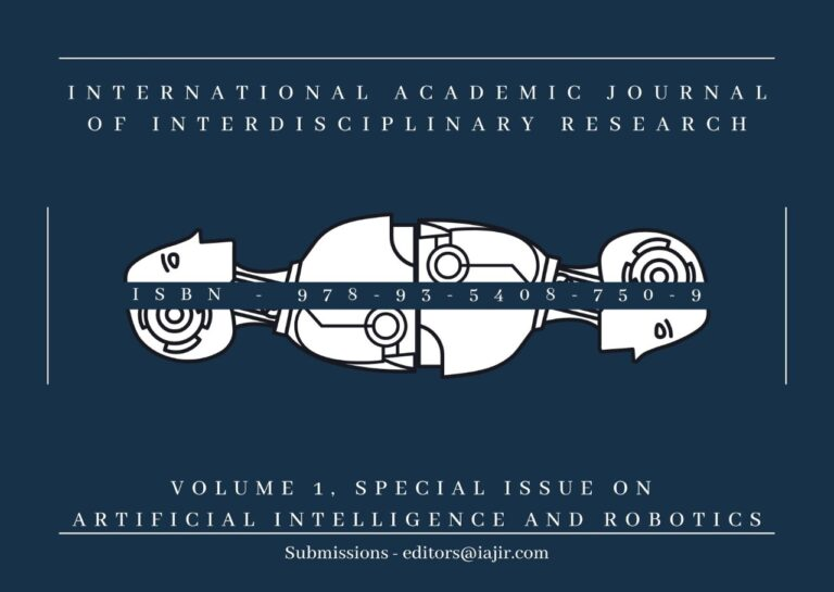 Call For Papers: IAJIR Special Issue On Artificial Intelligence & Robotics