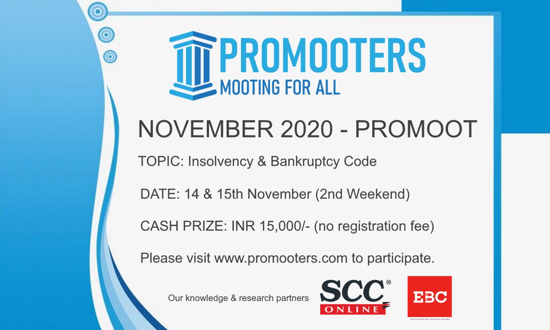 November ProMoot: Insolvency & Bankruptcy Code (14th-15th Nov)