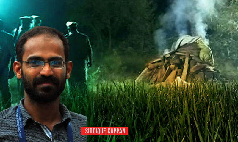 Hathras- UP Police Files Chargesheet Against Journalist Siddique Kappan And Seven Others Under UAPA