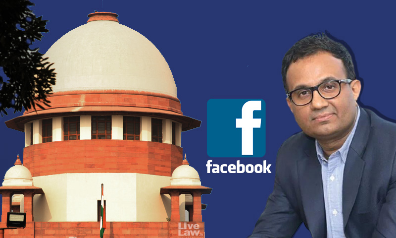 Facebook VPs Challenge Against Delhi Assembly Summons : Committee On Peace & Harmony Intervenes; Supreme Court To Hear In January