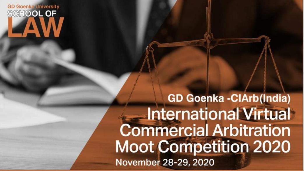 GD Goenka - CIArb International Virtual Commercial Arbitration Competition [28-29 Nov]
