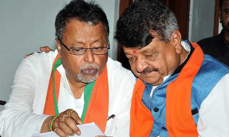 Unlawful Demonstration: Calcutta High Court Stays Investigation Against BJPs Kailash Vijayvargiya, Mukul Roy And Others