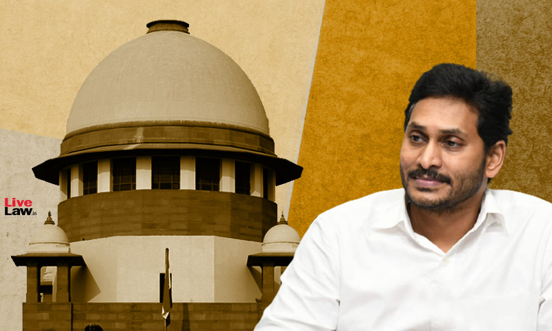 We Find It Disturbing : Supreme Court Stays Andhra High Courts Attempt To Examine Constitutional Breakdown In AP