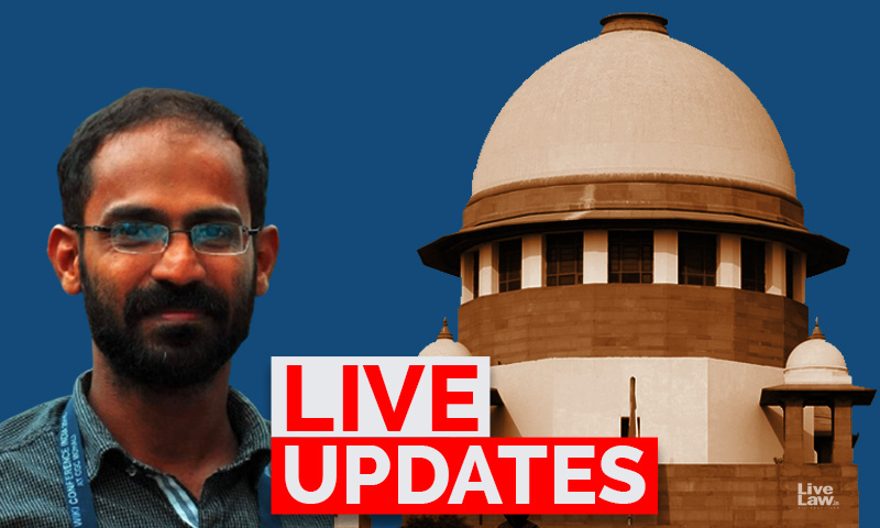 Plea For Release Of Journalist Siddique Kappan: Live Updates From Supreme Court