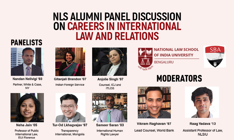 NLSIU Bengaluru To Conduct Online Alumni Panel Discussion On Careers In International Law & Relations On Nov 27